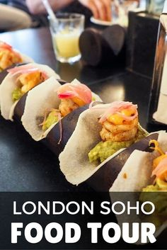 Want to learn about London's Soho neighborhood AND have some great food and drink tastings? Check out this Twilight Soho Food Tour with Eating London. A Food, Food And Drink, Soho Hotel, Best Street Food, London Food, London Restaurants, Looks Yummy, Tea Recipes, Foodie Travel