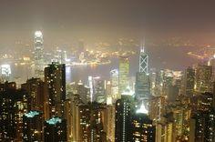 a view from Victoria Peak in Hongkong #hongkong