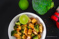 Sweet And Spicy Broccoli and Tofu Stir Fry | Plant Based Recipe