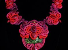 soutache necklace by after midnight