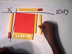 Multiplication Using Base Ten Blocks