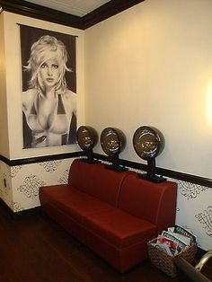 hair salons rollersets dryers | An in home salon...one day...and while I'm at it...that haircut to go ...