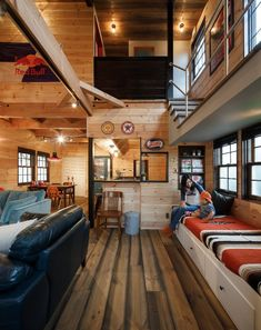 60 trendy home diy bedroom tiny house Home Room Design, Interior Design Living Room, Living Room Designs, House Design, Living Rooms, Diy Interior, Interior Architecture, American Interior, Style Japonais