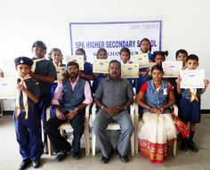 "Chaturth Charan/Heerak Pankh Award Selection Camp for Cubs and Bulbuls held at Kasturba Gandhi College Of Education, Rasipuram on 17/10/2015 & 18/10/2015. SPK GEMS SCHOOLS Cubs and Bulbuls Participated and Appreciated for their Commendable Services as a Cub and Bulbul. They Earned the Award of ""CHATURTHA CHARAN""."