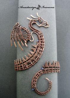 bracelet dragon2 by nastya-iv83.deviantart.com on @deviantART