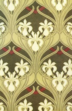 Art Nouveau Styling of Rene Beauclair Art Nouveau Pattern, Art Nouveau Tiles, Art Nouveau Design, Art Design, Desktop Hd, Iphone Wallpapers, Backgrounds Wallpapers, Art Nouveau Wallpaper, Of Wallpaper