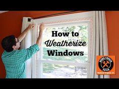 How to Weatherize Windows with Plastic Film Insulation (plus a bonus tip!!!) – Home Repair Tutor