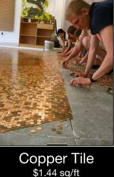 Custom copper tile if you like.