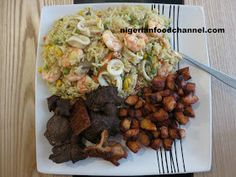 How to cook Nigerian Fried Rice   Nigerian Food Recipes
