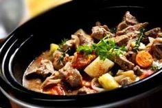 Beef Stew in Crockpot Recipe