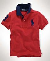 every baby boy needs a real POLO! thanks macys for providing options for the little ones!