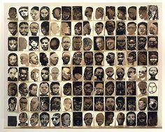 Marlene Dumas, Black drawings, 1991 – 1992.