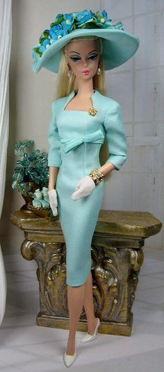 Aqua Belleza for Silkstone Barbie on Etsy now: