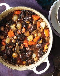 Beef Bourguignon - MarthaStewart.com