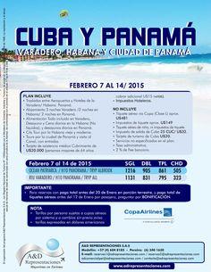 Cuba y Panamá
