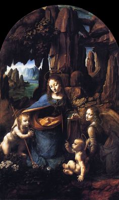 Virgin of the Rocks, da Vinci, 1506