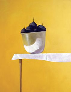 Julio Larraz - Love this. Being a printmaker it would be great as a print... Wish I thought of it first. S