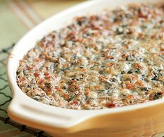Spinach & Parmesan Gratin Recipe