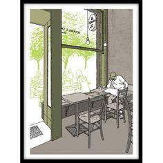 @Tim Dinter: Berlin Café 2. Noch mehr handsgnierte und limitierte Drucke bei: www.notregout.de