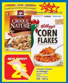 Coupons et Circulaires: 1,00$ Corn Flakes