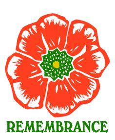 Remembrance Day Poppy - Veterans Day, Memorial Day
