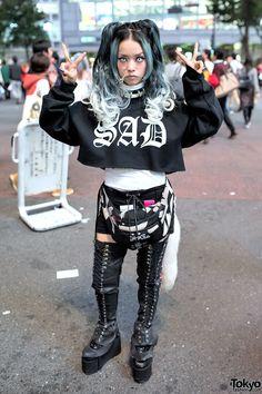 one of Harajuku's most famous fashion icons ... Hirari Ikeda | 15 November 2014 | #Fashion #Harajuku (原宿) #Shibuya (渋谷) #Tokyo (東京) #Japan (日本)
