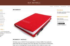 Weissbuch von Ulf Seydell #notebook #diary #stationary #notizbuch #tagebuch #papier