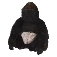 Boys' Gorilla Stuffed Animal - Black