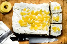 Eggless Pineapple Cake. Why there are no eggs in Indian Cakes? This article explains why.