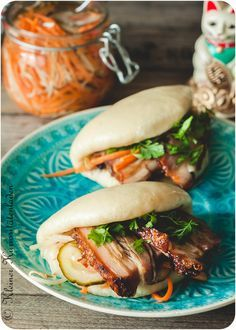 gua bao with pork belly (German)