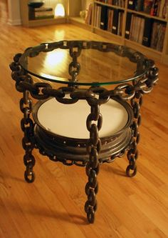 Steam Punk Home Decor Table