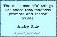 Quotable - André Gide - Writers Write Creative Blog