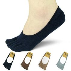 kilofly Womens Low Cut No Show Full Toe Socks Value Pack Set of 4 Pairs >>> Want additional info? Click on the image.