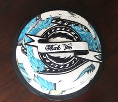 A special thank you cake for mark & Steph at Sanctuary Ink Tattoos - with you guessed it our tattoos hand painted in food gel and edible pen. Loads of love for those guys xx #tattoocake