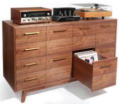 LP storage, retro style | The Audiophiliac - CNET News