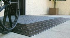 Wheel Chair Accessible Rubber Threshold Ramps
