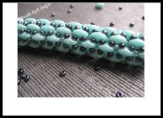Superduo rope tutorial. Tubular peyote stitch?