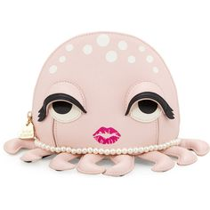 Betsey Johnson Octopus Cosmetic Case (715 MXN) ❤ liked on Polyvore featuring beauty products, beauty accessories, bags & cases, blush, betsey johnson makeup bag, travel toiletry case, makeup bag case, cosmetic bags and makeup purse