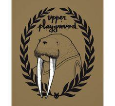 Sticker art by Jeremy Fish for Upper Playground