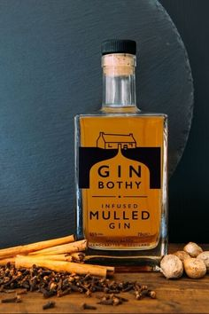 Gin Bothy Mulled Gin PD