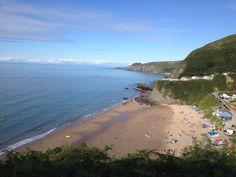 The beutiful Welsh Coast - Tresaith Ceredigion Welsh Coast, British Seaside, Sea Waves, Great British, Wales, Places To See, Holiday Ideas, Husband, World