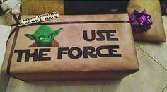 DIY Star Wars gift for christmas. Gift for boyfriend.