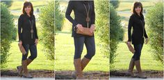 Fall Fashion-Mixing Brown and Black - Grace & Beauty