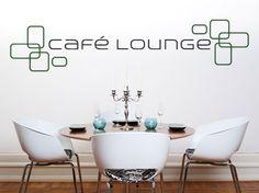 Wandtattoo: Café Lounge