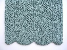 Pattern:Three Almond Scarves by Dagmar Mora