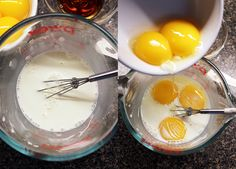 crema-pastelera Empanadas, Flan, Eggs, Chocolate, Breakfast, Queso, Ideas Para, Antique, Bedroom
