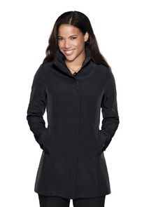 Tri-Mountain Women's Waterproof Concealed Hood Coat. LB2988 - List price: $129.98 Price: $64.99
