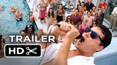 The Wolf of Wall Street Official Trailer #2 (2013) - Leonardo DiCaprio M...