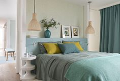 mediterranean homes interior Luxury Mediterranean Homes, Mediterranean Architecture, Mediterranean Decor, Bedroom Green, Living At Home, Trendy Bedroom, Beautiful Interiors, Home Decor Bedroom, Bedroom Ideas