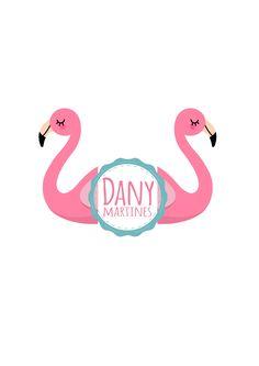 Cabeças de Flamingo, para porta foto de pompom